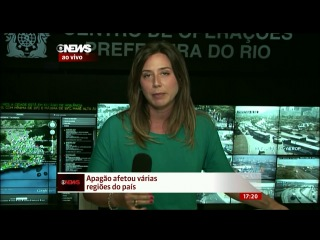 Rio de Janeiro começa a voltar ao normal após apagão